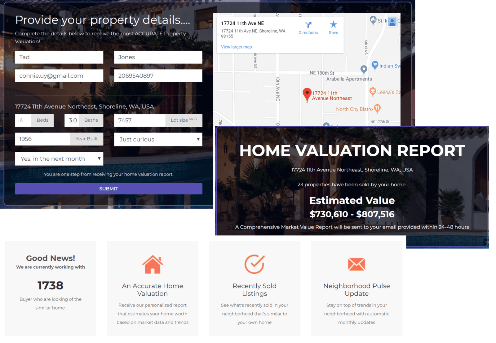 Valuation Website